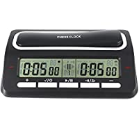 Professional Digital Chess Clock Count Up Down Timer with Clock And Game Timer