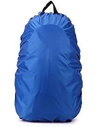 TOOGOO (R)新しい防水旅行ハイキングアクセサリーバックパックキャンプ雨ダストカバー35l、ブルー