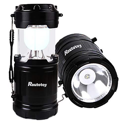LEDランタン 懐中電灯2モード切替 明るい 携帯型 ポータブル テントライト 防水仕様 防災対策 登山 夜釣り ハイキング アウトドア キャンプ用 (2個セット)