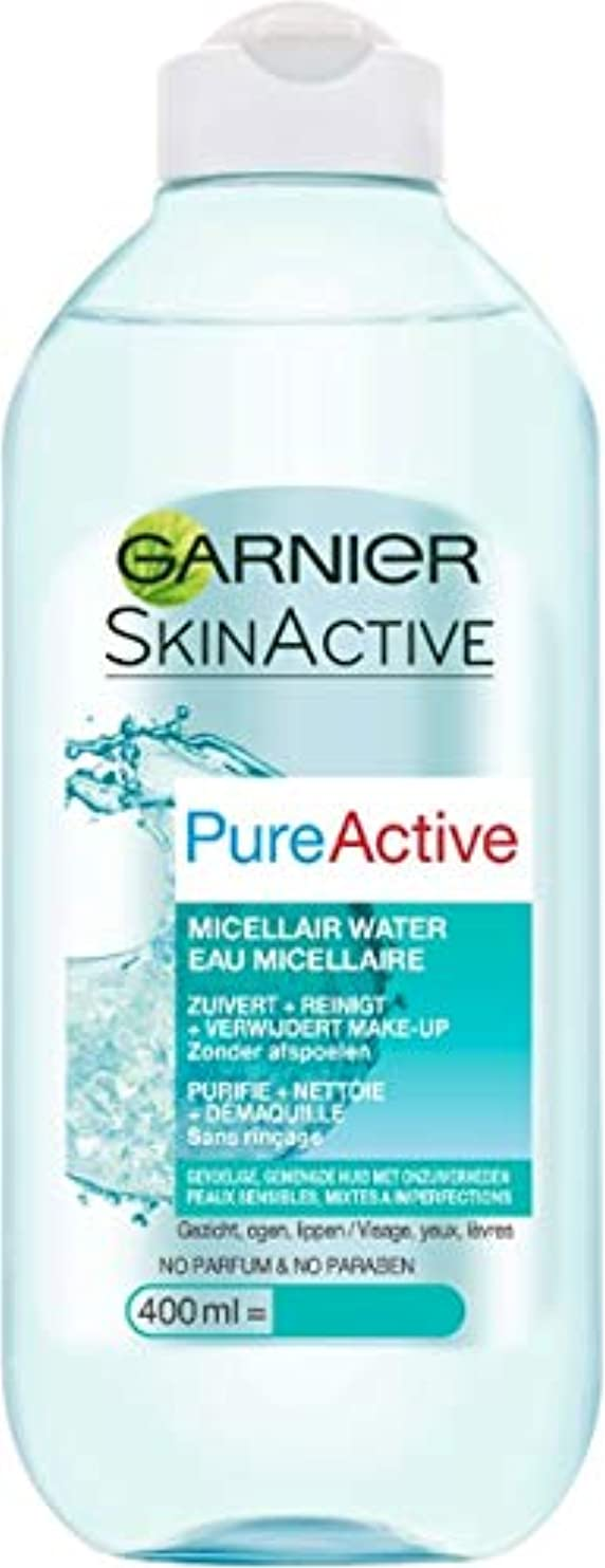 水平効率的構想するガルニエ SkinActive PureActive Micellair Water - For Sensitive Skin 400ml/13.3oz並行輸入品