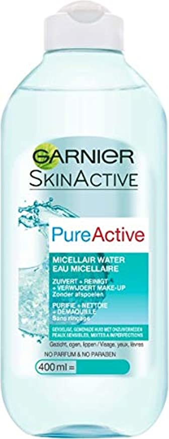 その後困った征服者ガルニエ SkinActive PureActive Micellair Water - For Sensitive Skin 400ml/13.3oz並行輸入品