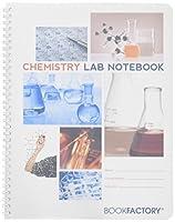 "BookFactory学生ラボノートブックwith Scientificグリッドページ、耐久性半透明カバー、wire-o Binding–ページサイズ: 8â ½ "" x 11""21.6X 27.9CM , ( lab-200–7GW ( Chemistry)"