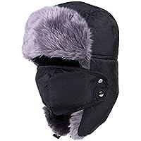 TOPmountain Portable Snow Cap Ski Hat Earflap Warm Winter Women Practical