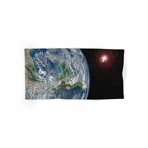 society6地球、月と太陽Hand &バスタオル Hand Towel s6-6055981p52a68v452
