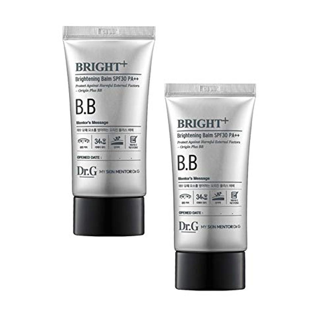 追加するオフ鎮静剤ドクターGブライトニングBalm SPF30 PA++45ml x2本セット、Dr.G Brightening Balm SPF30 PA++ 45ml x 2ea Set [並行輸入品]
