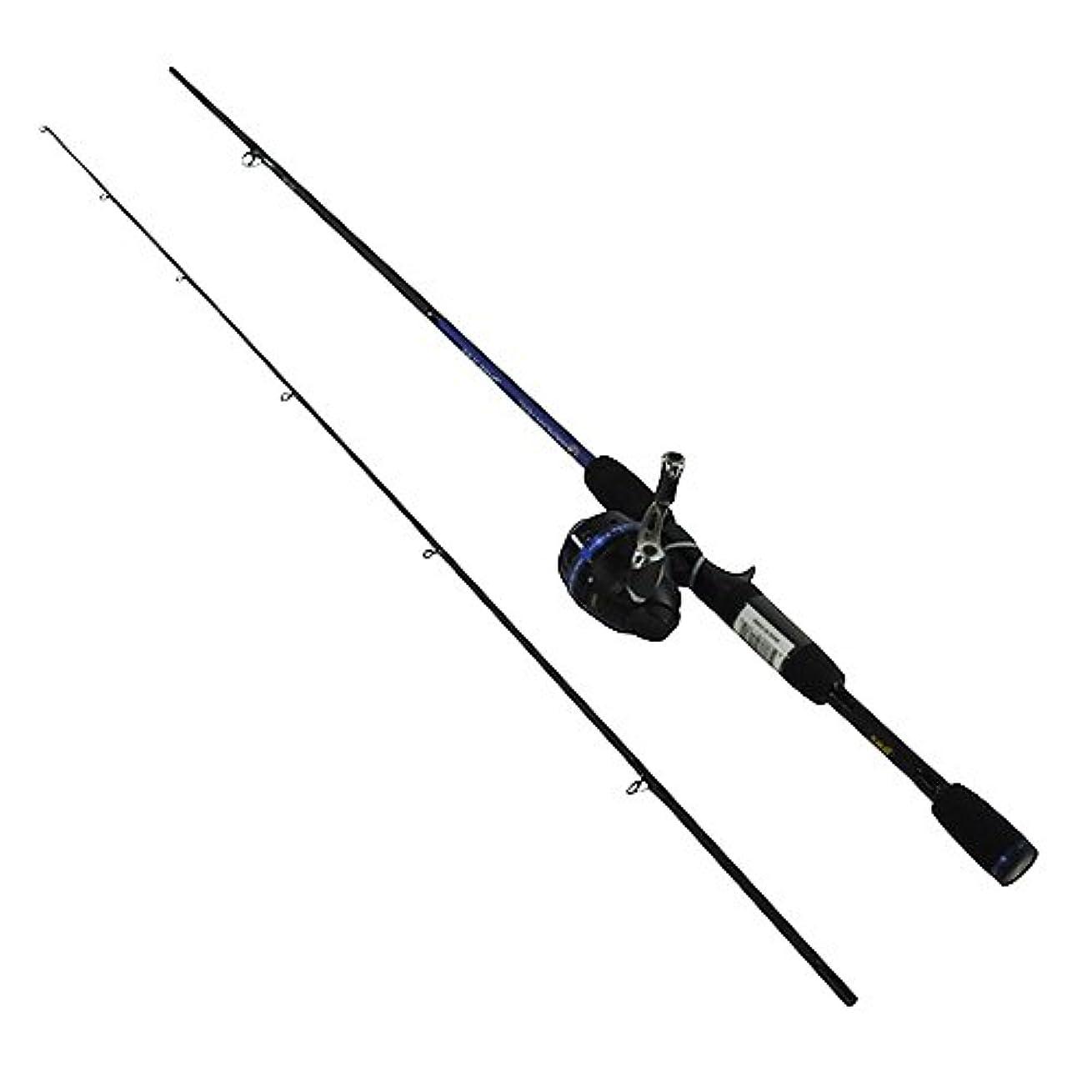 示す現代の最も早いLew 's釣りahm2060 m-2 Lews釣り、American Hero淡水Spincastコンボ、6 ' 2ピースロッド、3.1 :ギア比、0軸受