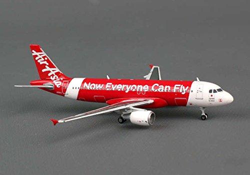 Jcの翼1-400 JC4WAJ368 Jcwingsエアアジア・ジャパンA320 1-400 REG No.JA02AJ