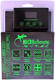 Microclimate dimming Thermostat