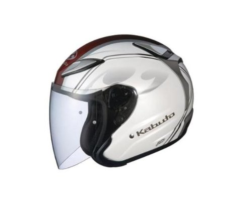 オージーケーカブト(OGK KABUTO)バイクヘルメット ジェット AVAND2 CITTA (チッタ) パールホワイト (サイズ:L)