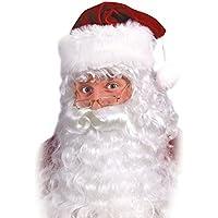 サンタ ひげ・かつらセット コスチューム用小物 ワンサイズ