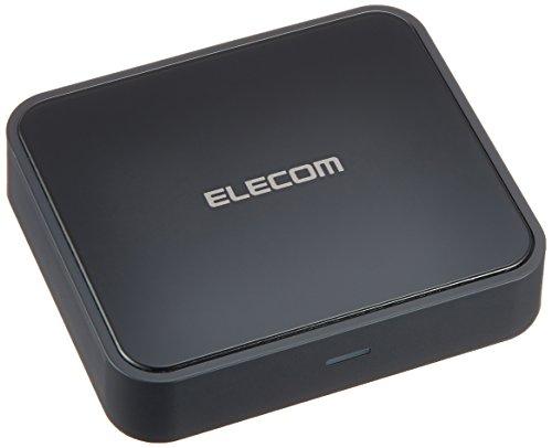 エレコム Bluetooth ブルートゥース オーディオレシーバー 音楽 動画対応 ステレオミニ 光デジタル接続 NFC iPhone android対応 AAC/aptX対応 1年間保証 LBT-AVWAR700