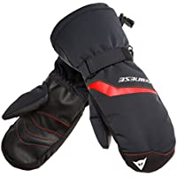 DAINESE(ダイネーゼ) SCARABEO GLOVES キッズ用のスキー?スノーボードグローブ Y60-STRETCH LIMO/HIGH RISK RED