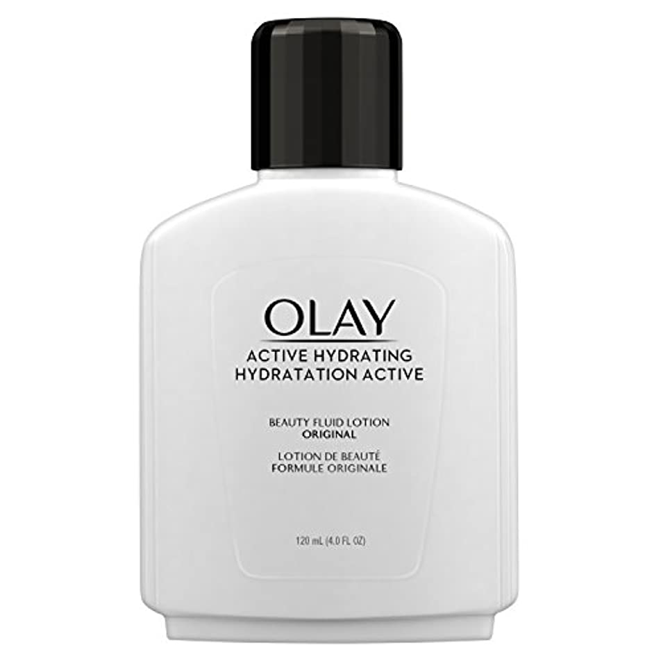 ニッケルやる機会Olay Active Hydrating Beauty Fluid Original 120 ml Moisturizer for Women by Olay