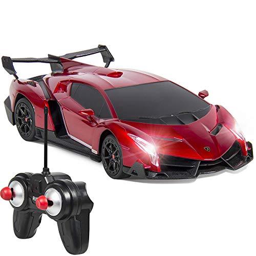 QUN FENG 1/24 RCランボルギーニ Lamborghini veneno リモートコント...