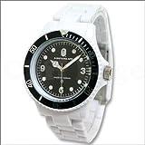 時計 BAPE BAPEX CLEAR (ベイペックス・クリア) WHITE (ホワイト) ア・ベイシング・エイプ画像①