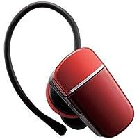 エレコム Bluetooth ブルートゥース ヘッドセット 通話・音楽、動画の音声が聴ける コンパクト 方耳 レッド LBT-HS40MMPRD