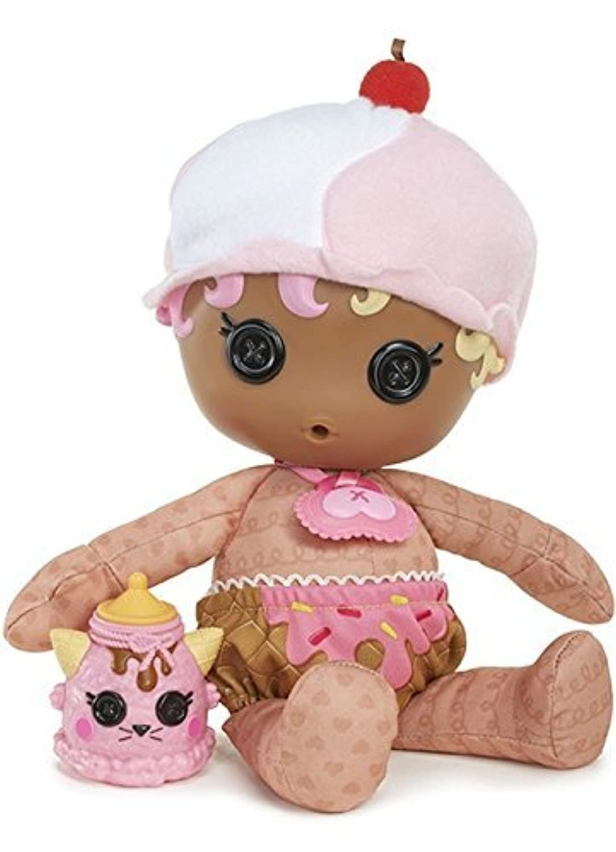 輸入ララループシー人形ドール Lalaloopsy Babies Scoops Waffle Cone Doll [並行輸入品]