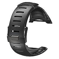 スント(SUUNTO) 交換ウレタンストラップ コア対応 オールブラック ウレタン [日本正規品 メーカー保証] SS014993000