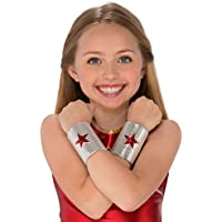 Rubie's Costume Wonder Woman Child's Gauntlets Costume Accessory [並行輸入品]