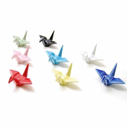 小さな折り鶴を食卓に。