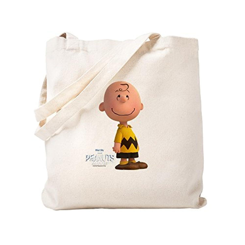 CafePress – Charlieブラウン – The Peanuts Movie – ナチュラルキャンバストートバッグ、布ショッピングバッグ S ベージュ 1430454268DECC2