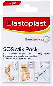 Elastoplast - Blister Plasters - SOS Assorted Sizes (6)