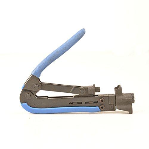 (アイウィス) IWISS H548A  同軸コネクタ 圧縮 ペンチ F 型用 RG6 RG59 RG11 圧縮