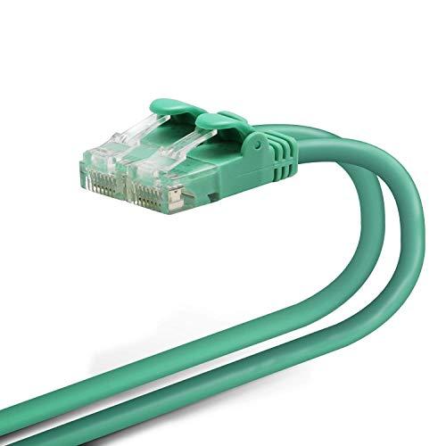 エレコム LANケーブル 3m 爪折れ防止コネクタ やわらか CAT6準拠 グリーン LD-GPY/G3