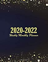 2020-2022 Weekly Monthly Planner: Cute Cover | 3 Year Appointment Book, Monthly Weekly Schedule Journal Calendar | 2020-2022 Three Year Planner 36-month | 3 Year Planner 2020-2022
