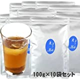 インスタント 麦茶 1kg 給茶機用 対応 パウダー茶 粉末茶 (100g×10袋)