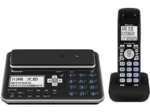 Pioneer デジタルコードレス電話機 子機1台付き 迷惑電話対策・留守番・ナンバーディスプレイ機能搭載 ブラック TF-FA70W-K