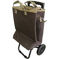 tote carry(トートキャリー) 保冷機能付きショッピングカート ブラウンᛋ
