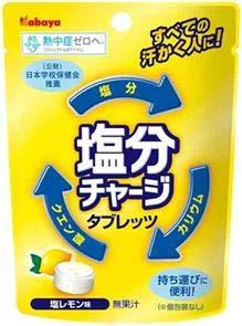 カバヤ食品 塩分チャージタブレッツ 塩レモン味 21g×6袋