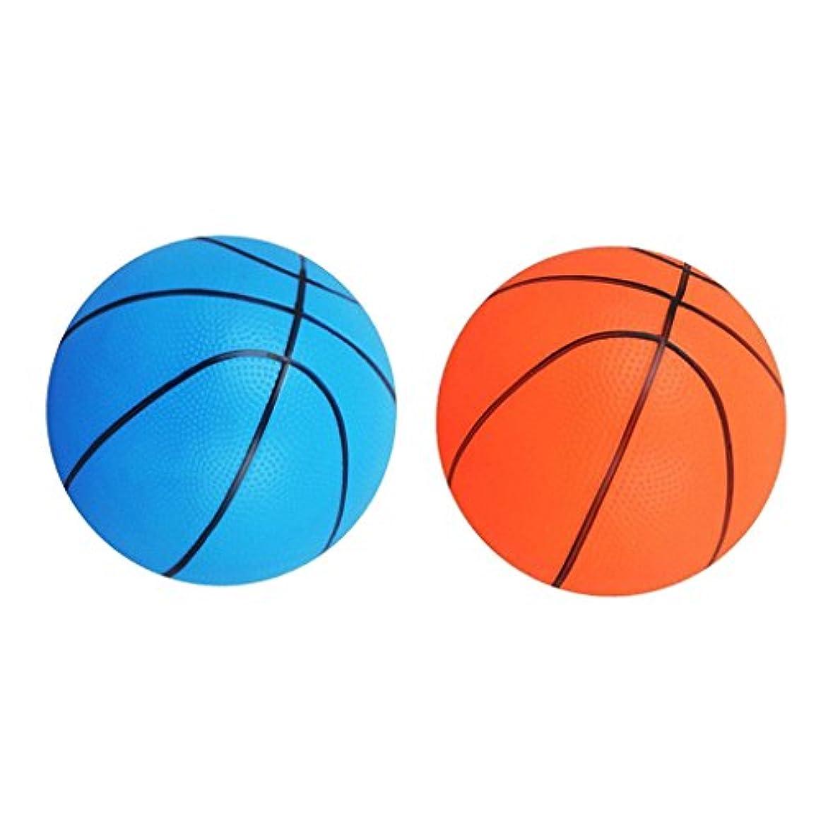 保証湿原むさぼり食う2個入り 弾力 子供 スポーツ遊び バスケットボールおもちゃ