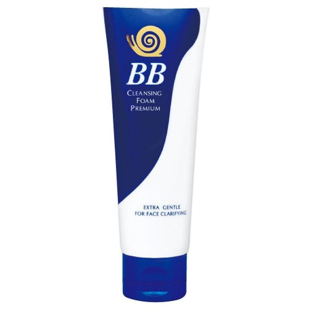粗い反動拍車B&S 極上 かたつむり BB 洗顔フォーム (プレミアム) 100g [並行輸入品]