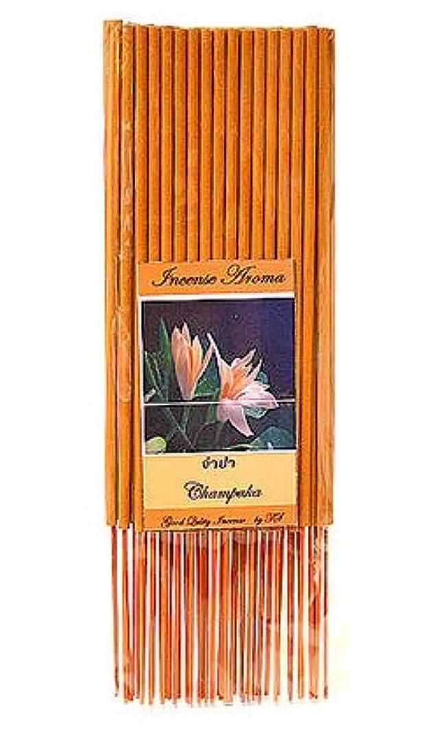 ことわざ相互接続六月タイのお香 スティックタイプ [チェンパカ] インセンスアロマ 約50本入り アジアン雑貨