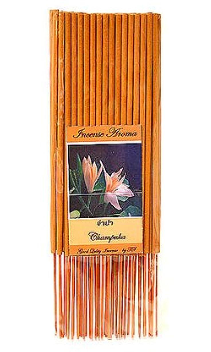 蚊ダーツ分析的なタイのお香 スティックタイプ [チェンパカ] インセンスアロマ 約50本入り アジアン雑貨