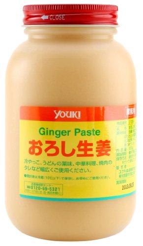 ユウキ おろし生姜 瓶 900g