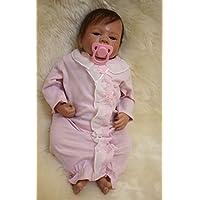 rayish Rebornベビー人形18 Lifelikeリアルな赤ちゃん人形磁気口ラブリーLifelikeキュートピンクかわいい人形