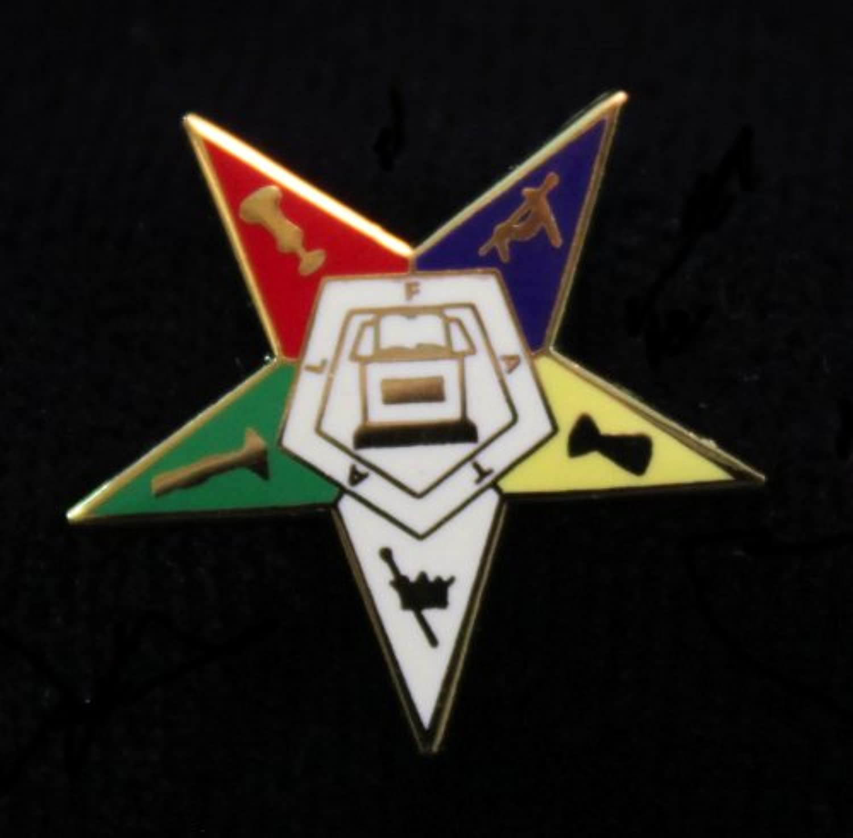 Freemasonic Order of the Eastern Starラペルピン – 3 /4
