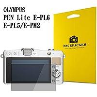 【BACKPACKER】 カメラ液晶保護ガラス 液晶プロテクター 0.33mm強化ガラス使用 9H硬度 高鮮明 OLYMPUS PEN Lite E-PL6 / E-PL5 / E-PM2用