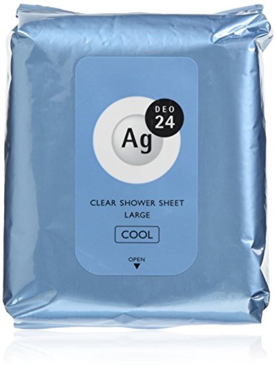 摘む暖かさレビューエージーデオ24 クリアシャワーラージシート (クール) 無香料 26枚 デオドラントボディシート