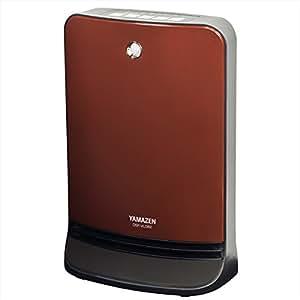 山善(YAMAZEN) 人体感知センサー付セラミックヒーター(温度設定4段階・センサー運転機能付)(消臭フィルター付) ブラウン DSF-VL082(T)