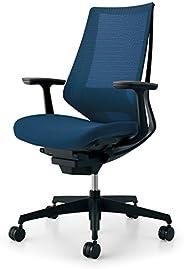 コクヨ デュオラ イス オフィスチェア プルシアンブルー メッシュタイプ デスクチェア 事務椅子 シンプルデザイン多機能チェア CR-G3021E6KZT6-WN 【ラクラク納品サービス】