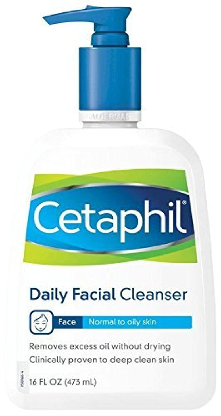 行政害毎月海外直送品Cetaphil Cetaphil Daily Facial Cleanser For Normal To Oily Skin, 16 oz