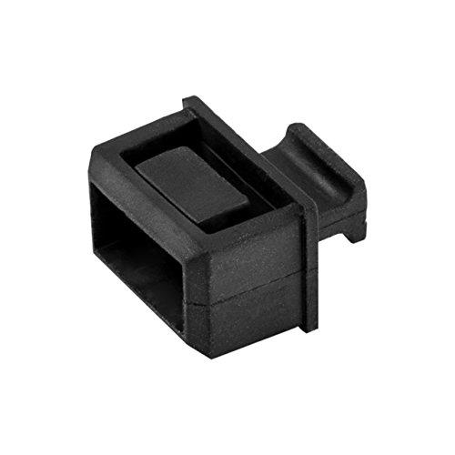 SFPスロット用ダストカバー 10個りパック 機器側SFPポート用防塵保護キャップ SFPCAP10 1個