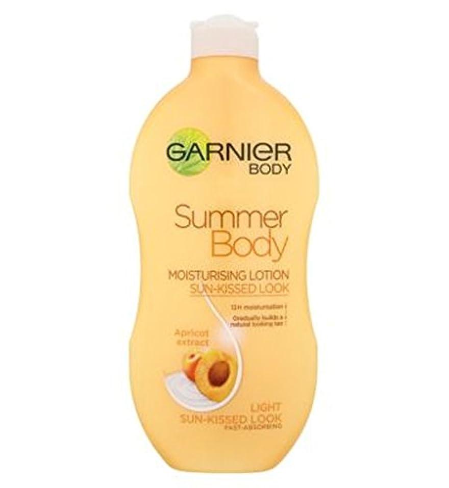 保守的形成ラジウムGarnier Summer Body Lotion Light Sun-Kissed 400ml - ガルニエの夏のボディローションライト日、キスをした400ミリリットル (Garnier) [並行輸入品]
