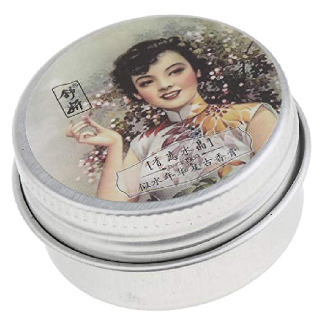 爆風羨望有彩色の固体香水 ソリッドパフューム ソリッドバーム 香りクリーム 15g 長持ち 5タイプ選べ - 02