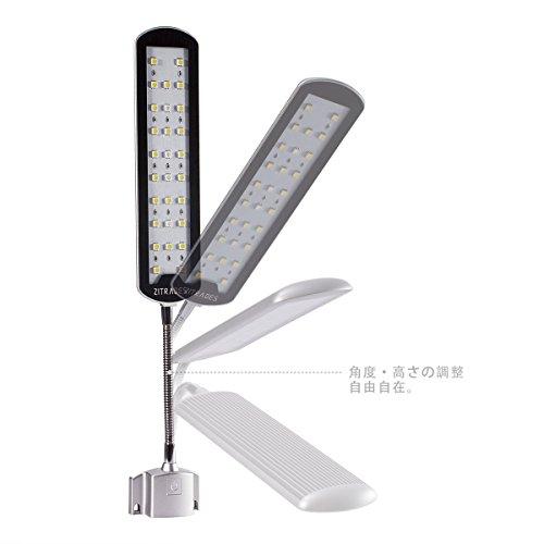 Zitrades アクアリウム ライト led 水槽 ライト 水槽用 照明 長寿命 省エネ LED28 7W 観賞魚 熱帯魚 水草育成 (28LED)