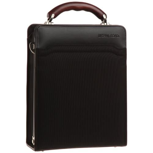 【木和田】縦型ダレスバッグ 鞄の聖地兵庫県豊岡市製 3877 01 (ブラック)